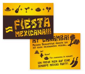 Einladung Mexiko Party kostenlos