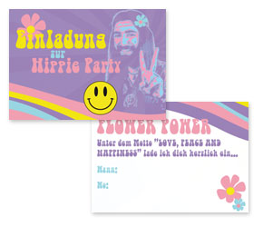 einladung-hippie-flower-power-party-kostenlos-ideen-mottoparty